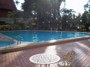 Swimming Pool at the Wang Tai Hotel