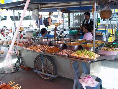 market in Thongsala