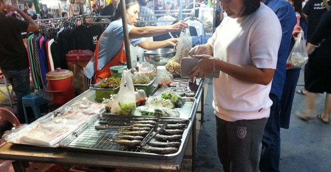Surat Thani Night Market is a great place to try authentic Southern Thai cuisine