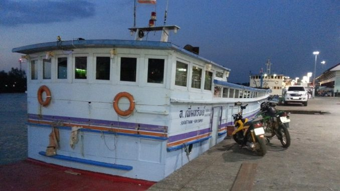 Surat Thani to Koh Samui ferry