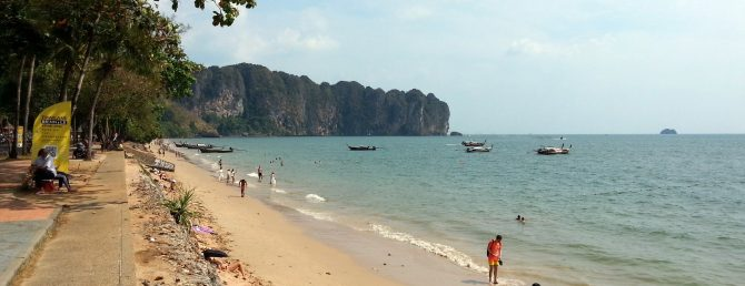 Ao Nang Beach in Krabi