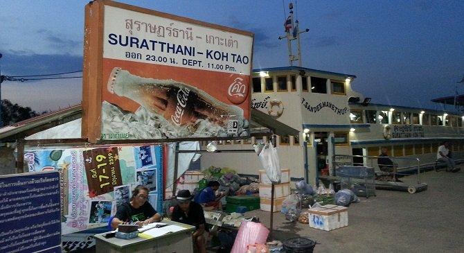 Night boat to Koh Tao