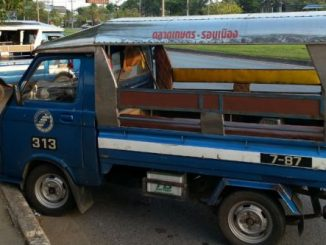 Taxi van in Surat Thani