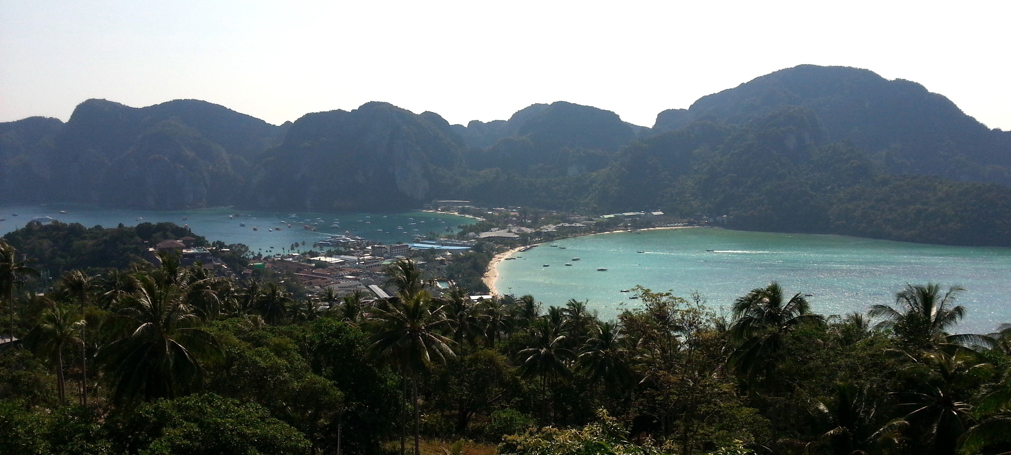 View over Tonsai Bay in Koh Phi Phi