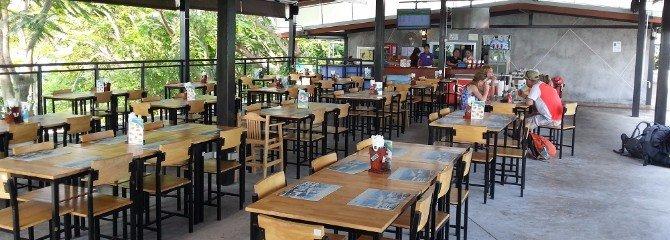 Restaurant at Donsak Raja Ferry Port