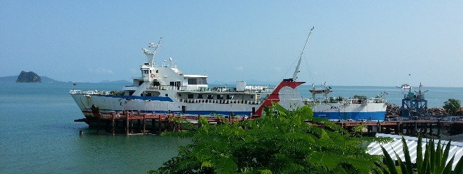 Raja car ferry currently being operated between Surat Thani and Koh Samui