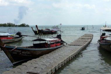 Ao Nammao Pier in Krabi Province
