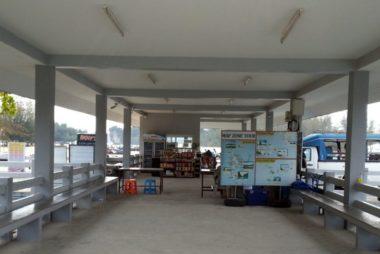 Inside Nopparat Thara Pier