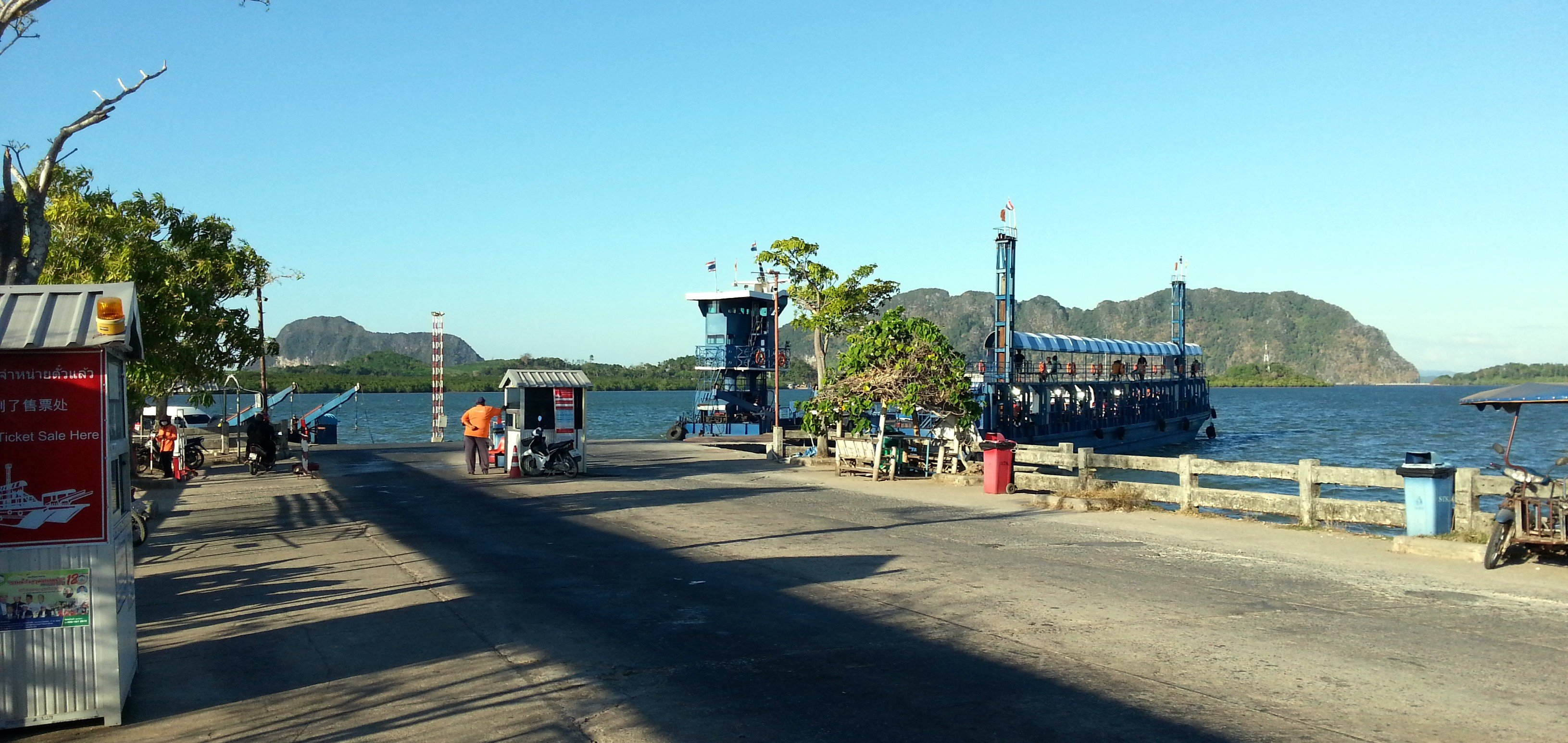 Khlong Mak Ferry Pier in Koh Lanta