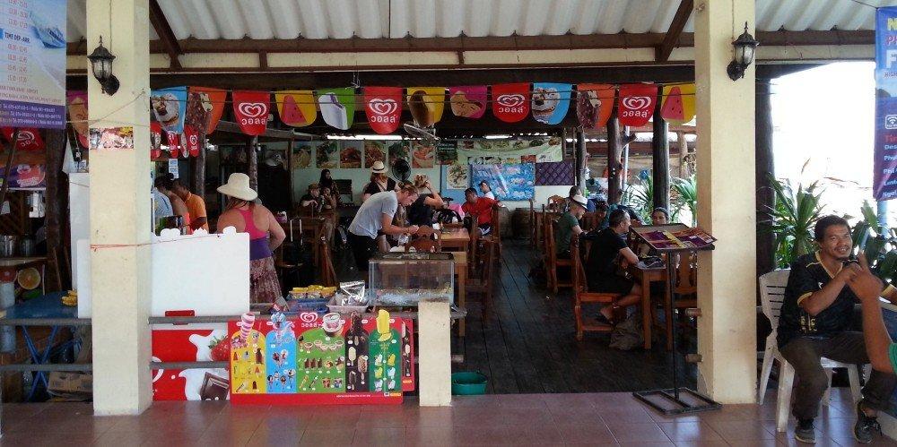 Restaurant at Saladan Pier