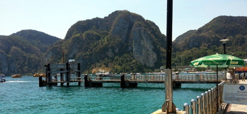 Tonsai Pier in Koh Lipe