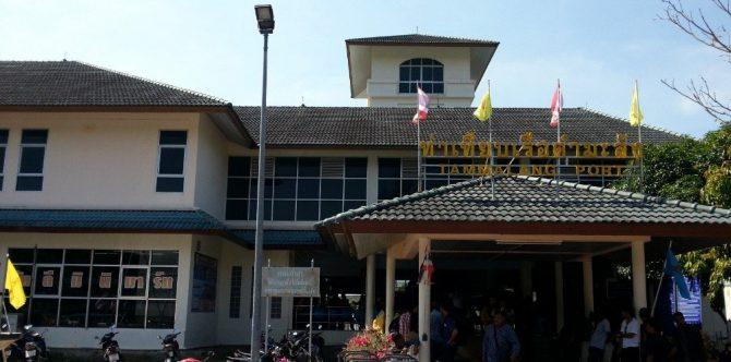 Tammalang Pier in Satun