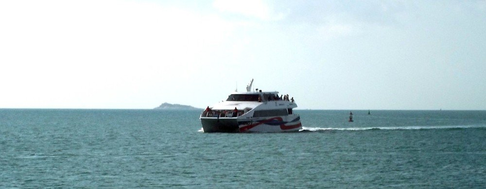 Ferry from Koh Phangan to Chumphon Airport