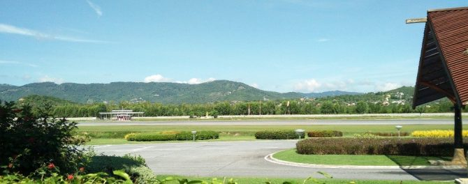 Runway at Samui Airport