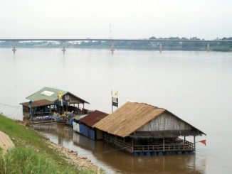 Thai-Lao Friendship Bridge in Nong Khai