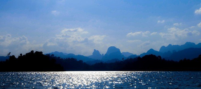 Mountains of the Khao Sok National Park