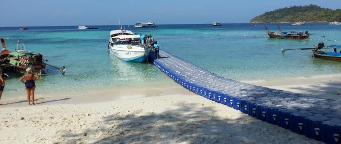 You can travel direct from Hat Yai Airport to Koh Lipe with a joint bus and speed boat service