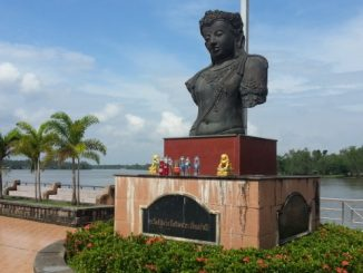 Riverside view in Surat Thani City