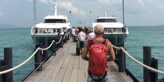 Travel direct from Chumphon Airport for a ferry to Koh Tao