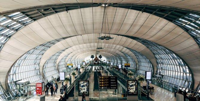 Suvarnabhumi is Thailand's main international airport