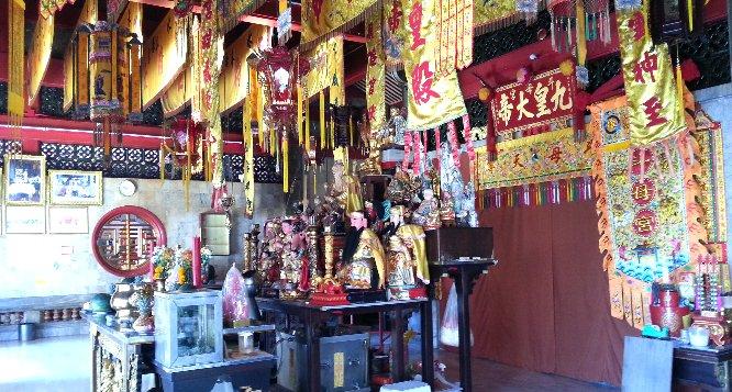 The Jui Tui Shrine is dedicated to Tean Hu Huan Soy