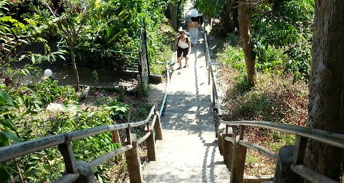 Steps up to Koh Phi Phi Viewpoint