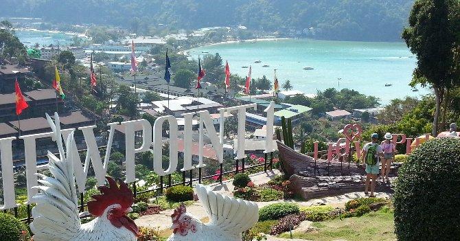 Viewpoint 1 in Koh Phi Phi