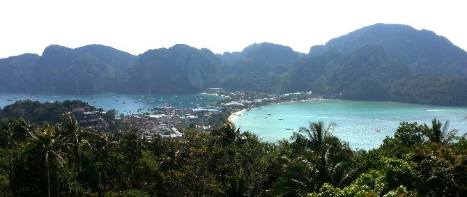 Viewpoint 2 in Koh Phi Phi