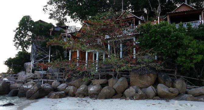 Resort on Pattaya Beach