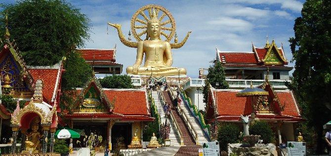 Wat Phra Yai Koh Samui is better known as Big Buddha Temple