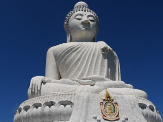 Phra Phutta Ming Mongkol Eknakiri is the official name for Phuket Big Buddha