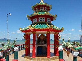Chinese shrine in Koh Lanta Old Town